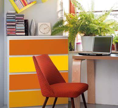 bútorfelújítás öntapadós tapétával