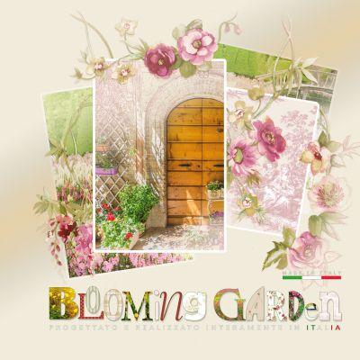 Blooming Garden 2016 tapéta, poszter katalógus