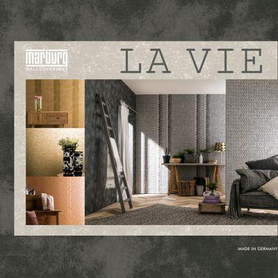 La Vie tapéta, poszter katalógus