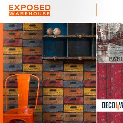 Exposed Warehouse tapéta, poszter katalógus