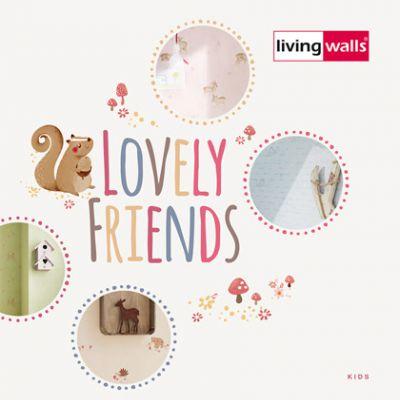 Lovely Friends tapéta, poszter katalógus