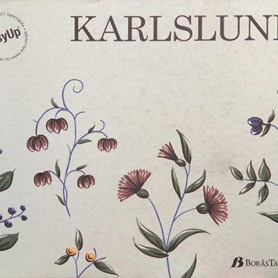 Karlslund tapéta, poszter katalógus