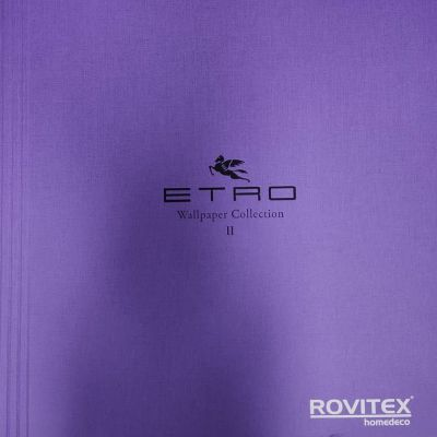 Etro 2 tapéta, poszter katalógus