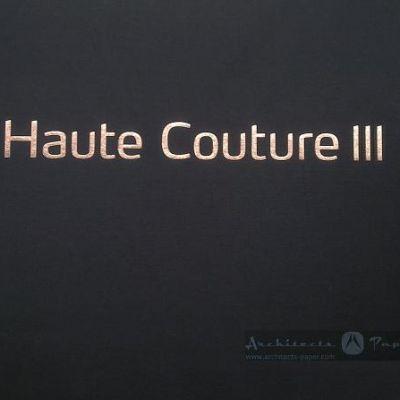Architects Paper gyártó Haute Couture 3 katalógusa