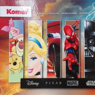 Komar gyártó Disney-Marvel Edition 2 katalógusa