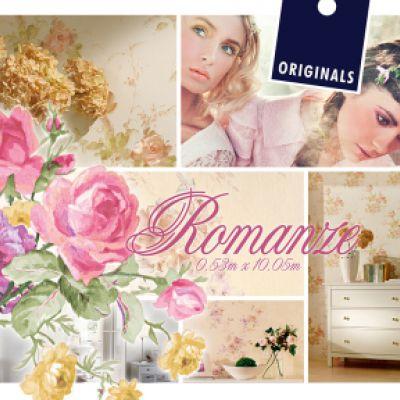 Romanze tapéta, poszter katalógus