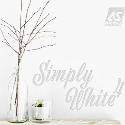 Simply White 4 tapéta, poszter katalógus