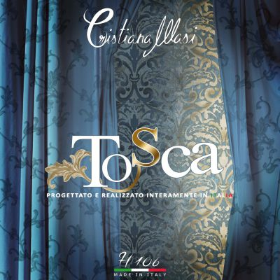 Tosca tapéta, poszter katalógus