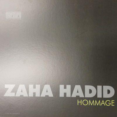 Zaha Hadid Hommage tapéta, poszter katalógus