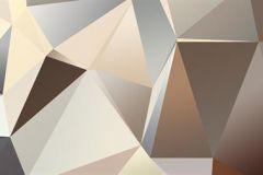 WB8213 cikkszámú tapéta.Különleges motívumos,3d hatású,absztrakt,geometriai mintás,különleges felületű,arany,barna,szürke, bordűr