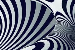 WB8236 cikkszámú tapéta.3d hatású,absztrakt,különleges felületű,fehér,fekete, bordűr