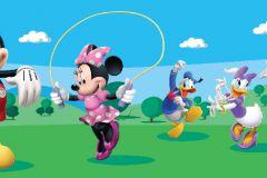 WBD8069 cikkszámú tapéta.állatok,gyerek,különleges felületű,fekete,kék,pink-rózsaszín,piros-bordó,zöld, bordűr