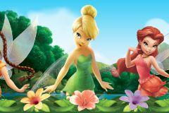 WBD8075 cikkszámú tapéta.Emberek-sztárok,gyerek,különleges felületű,virágmintás,fehér,kék,lila,narancs-terrakotta,pink-rózsaszín,zöld, bordűr