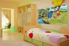 FTDN H 5315 cikkszámú tapéta.állatok,emberek-sztárok,gyerek,rajzolt,fehér,fekete,kék,lila,narancs-terrakotta,pink-rózsaszín,sárga,szürke,vajszín,zöld,vlies poszter, fotótapéta