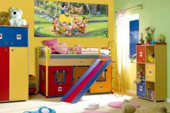 FTDN H 5319 cikkszámú tapéta.Emberek-sztárok,gyerek,rajzolt,barna,bézs-drapp,fehér,fekete,kék,lila,narancs-terrakotta,sárga,zöld,vlies poszter, fotótapéta