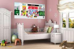 FTDN H 5322 cikkszámú tapéta.állatok,emberek-sztárok,gyerek,rajzolt,fehér,fekete,lila,pink-rózsaszín,piros-bordó,sárga,zöld,vlies poszter, fotótapéta