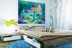 FTDN M 5207 cikkszámú tapéta.állatok,emberek-sztárok,gyerek,rajzolt,arany,kék,lila,pink-rózsaszín,piros-bordó,zöld,vlies poszter, fotótapéta