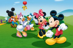 FTDN M 5212 cikkszámú tapéta.állatok,gyerek,rajzolt,barna,fehér,fekete,kék,lila,narancs-terrakotta,pink-rózsaszín,piros-bordó,sárga,szürke,zöld,vlies poszter, fotótapéta