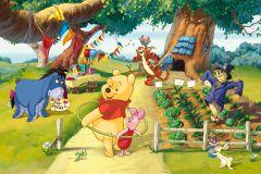FTDN M 5216 cikkszámú tapéta.állatok,gyerek,rajzolt,barna,fehér,fekete,kék,lila,narancs-terrakotta,pink-rózsaszín,piros-bordó,sárga,szürke,zöld,vlies poszter, fotótapéta