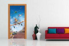 FTDN V 5460 cikkszámú tapéta.Gyerek,fehér,fekete,kék,narancs-terrakotta,vlies poszter, fotótapéta
