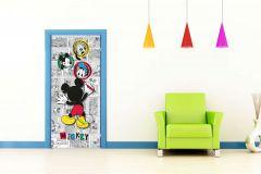 FTDN V 5462 cikkszámú tapéta.Gyerek,fehér,fekete,kék,piros-bordó,sárga,szürke,vlies poszter, fotótapéta
