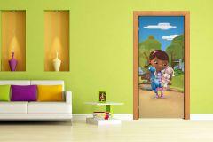 FTDN V 5466 cikkszámú tapéta.állatok,gyerek,barna,fehér,fekete,kék,lila,pink-rózsaszín,zöld,vlies poszter, fotótapéta