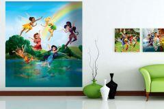 FTDN XL 5130 cikkszámú tapéta.Gyerek,kék,lila,pink-rózsaszín,piros-bordó,zöld,vlies poszter, fotótapéta