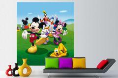 FTDN XL 5131 cikkszámú tapéta.Gyerek,fehér,fekete,kék,lila,narancs-terrakotta,pink-rózsaszín,piros-bordó,sárga,zöld,vlies poszter, fotótapéta