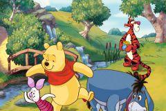 FTDN XL 5135 cikkszámú tapéta.állatok,gyerek,barna,kék,narancs-terrakotta,pink-rózsaszín,piros-bordó,sárga,szürke,zöld,vlies poszter, fotótapéta