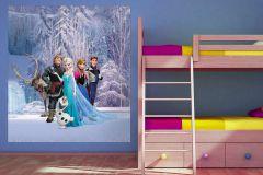 FTDN XL 5139 cikkszámú tapéta.állatok,gyerek,barna,fehér,fekete,kék,lila,pink-rózsaszín,sárga,vlies poszter, fotótapéta