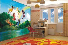 FTDN XXL 5009 cikkszámú tapéta.Gyerek,fekete,kék,narancs-terrakotta,piros-bordó,sárga,zöld,vlies poszter, fotótapéta