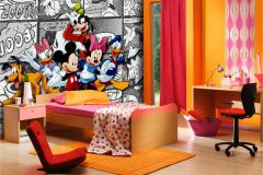 FTDN XXL 5010 cikkszámú tapéta.Gyerek,fehér,fekete,kék,narancs-terrakotta,piros-bordó,sárga,szürke,zöld,vlies poszter, fotótapéta