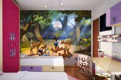 FTDN XXL 5014 cikkszámú tapéta.állatok,gyerek,barna,bézs-drapp,kék,zöld,vlies poszter, fotótapéta