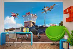 FTDN XXL 5030 cikkszámú tapéta.Gyerek,kék,narancs-terrakotta,szürke,zöld,vlies poszter, fotótapéta