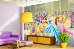 FTDN XXL 5033 cikkszámú tapéta.Gyerek,kék,lila,narancs-terrakotta,pink-rózsaszín,sárga,zöld,vlies poszter, fotótapéta