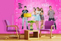 FTDN XXL 5039 cikkszámú tapéta.Emberek-sztárok,gyerek,barna,fehér,fekete,kék,pink-rózsaszín,szürke,vlies poszter, fotótapéta