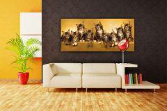 FTN H 2704 cikkszámú tapéta.állatok,barna,sárga,vlies poszter, fotótapéta