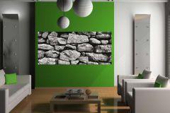 FTN H 2720 cikkszámú tapéta.Kőhatású-kőmintás,fekete,szürke,vlies poszter, fotótapéta