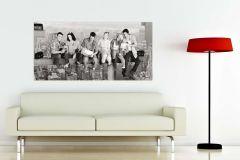 FTN H 2726 cikkszámú tapéta.Emberek-sztárok,tájkép,fehér,fekete,szürke,vlies poszter, fotótapéta