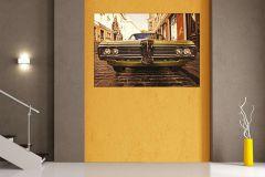 FTN M 2602 cikkszámú tapéta.Tájkép,barna,sárga,zöld,vlies poszter, fotótapéta