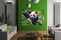 FTN M 2610 cikkszámú tapéta.állatok,természeti mintás,barna,fehér,fekete,zöld,vlies poszter, fotótapéta