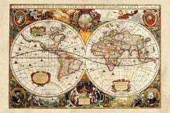 FTN M 2630 cikkszámú tapéta.Különleges motívumos,barna,bézs-drapp,narancs-terrakotta,piros-bordó,vajszín,zöld,vlies poszter, fotótapéta