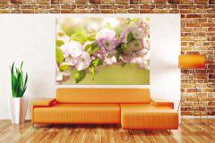 FTN M 2631 cikkszámú tapéta.Természeti mintás,virágmintás,fehér,pink-rózsaszín,sárga,zöld,vlies poszter, fotótapéta