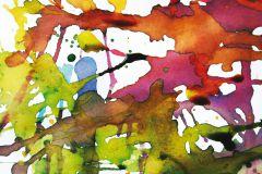 FTN M 2638 cikkszámú tapéta.Különleges motívumos,fehér,kék,narancs-terrakotta,pink-rózsaszín,piros-bordó,zöld,vlies poszter, fotótapéta