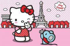 FTN S 2442 cikkszámú tapéta.Gyerek,fehér,fekete,kék,pink-rózsaszín,piros-bordó,vlies poszter, fotótapéta
