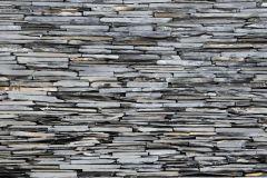 FTN S 2479 cikkszámú tapéta.Kőhatású-kőmintás,fekete,szürke,vlies poszter, fotótapéta