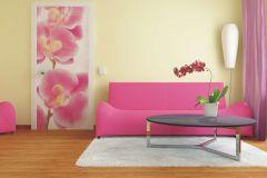 FTN V 2826 cikkszámú tapéta.Virágmintás,fehér,pink-rózsaszín,sárga,vlies poszter, fotótapéta