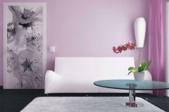FTN V 2863 cikkszámú tapéta.Virágmintás,fehér,fekete,szürke,vlies poszter, fotótapéta
