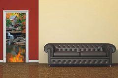 FTN V 2872 cikkszámú tapéta.Tájkép,barna,bézs-drapp,fehér,fekete,kék,piros-bordó,szürke,vlies poszter, fotótapéta