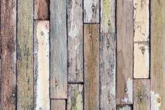 FTN V 2922 cikkszámú tapéta.Fa hatású-fa mintás,barna,bézs-drapp,fehér,szürke,zöld,vlies poszter, fotótapéta